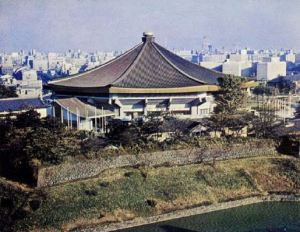 The Budokan in 1964, THE GAMES OF THE XVIII OLYMPIAD TOKYO 1964