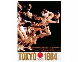 Yusaku Kamekura's second Tokyo Olympics poster
