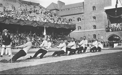 1920 Olympics_tug of war