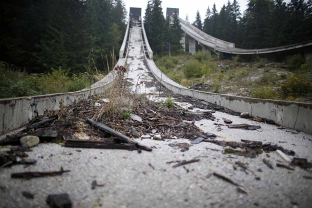 Abandoned ski jump in Sarajevo_Reuters_Dado Ruvic