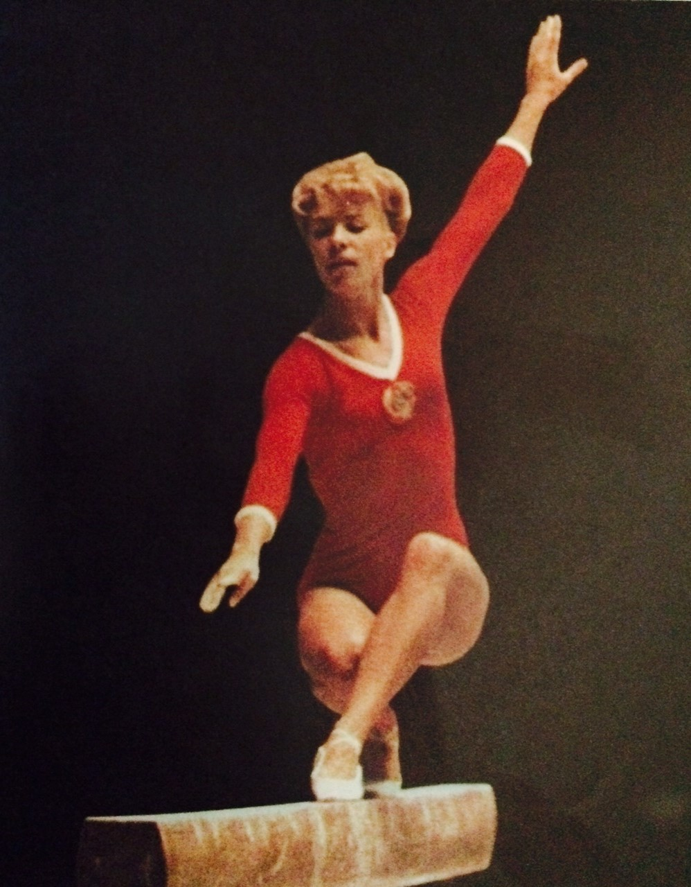 Larisa Latynina 18 Olympic medals