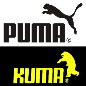 Puma Kuma logos