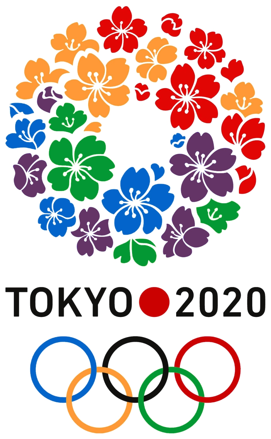 The Olympic emblem for the 2020 bid.