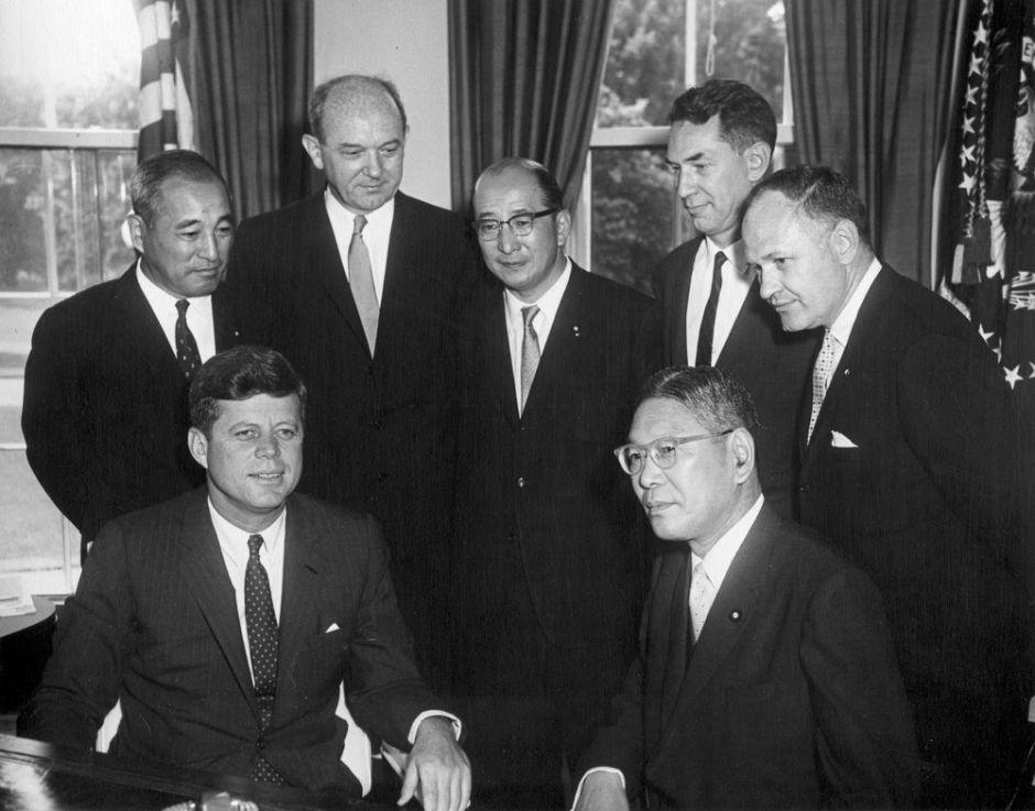 John F. Kennedy and Hayato Ikeda