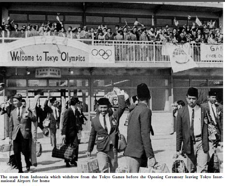"From the book, ""The Games of the XVIII Olympiad Tokyo 1964"""
