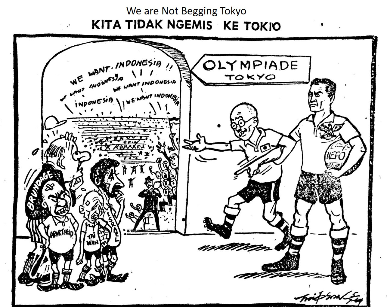 Boycotts Olympiad