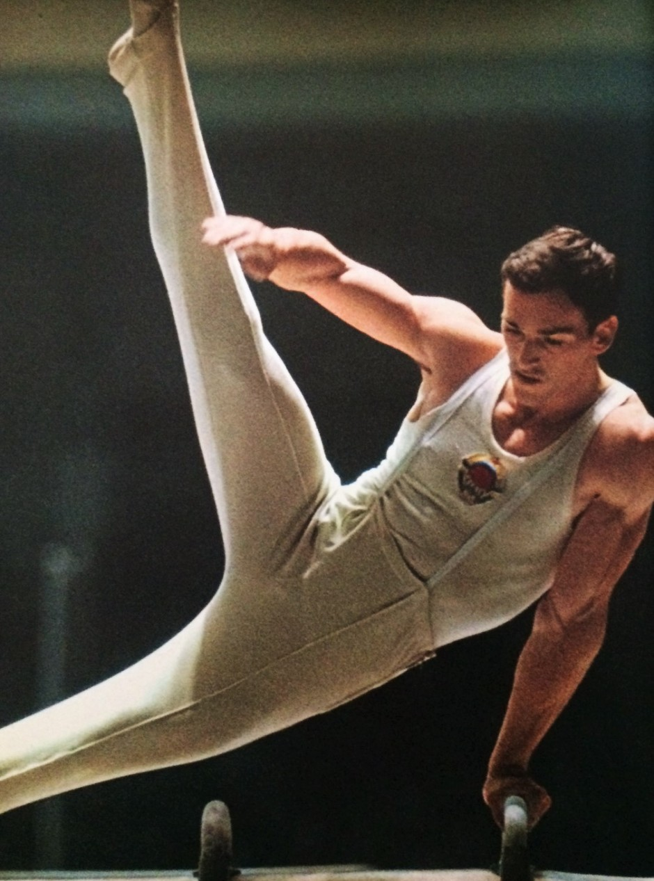 Boris Shakhlin_XVIII Olympiad Tokyo 1964_Asahi Shimbun