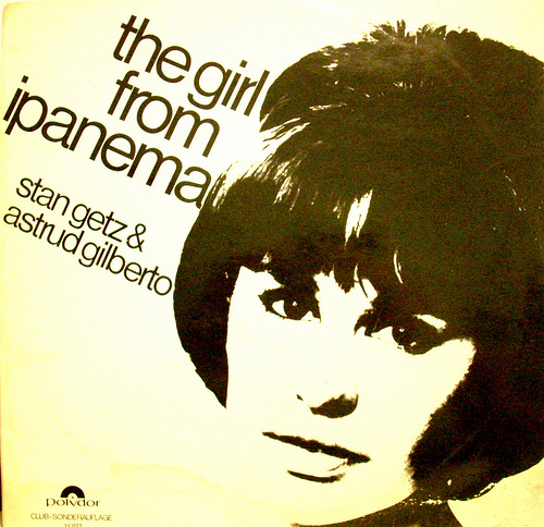 girl from ipanema record cover