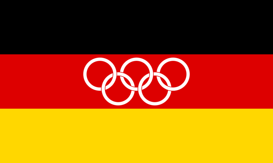 german olympic flag