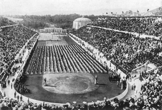 opening ceremony 1896 Olympics
