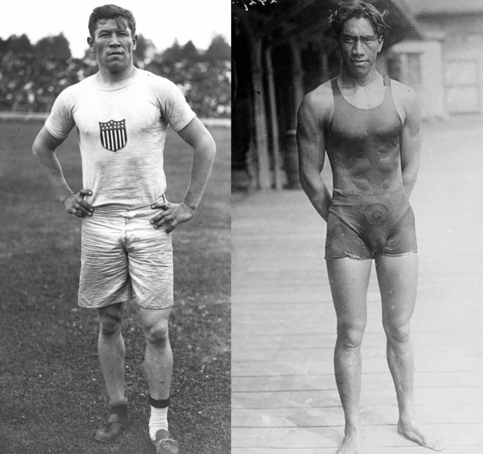 Thorpe and Kahanamoku