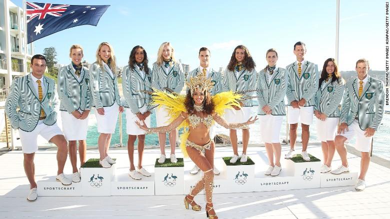 Australia team uniform