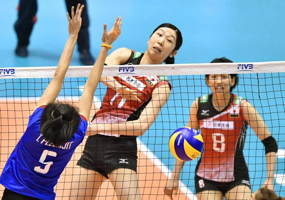 Japan vs thailand volleyball qualifier
