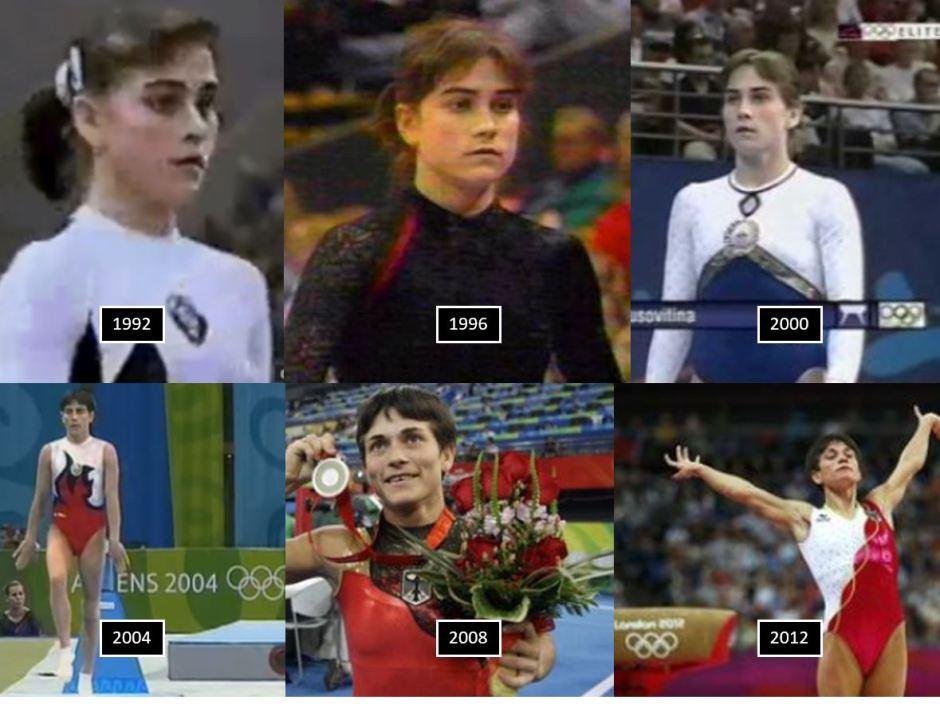 Oksana Chusovitina in Six Olympiads
