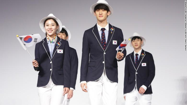 South Korea uniform