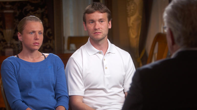 Yuliya and Vitaly Stepanov on 60 Minutes