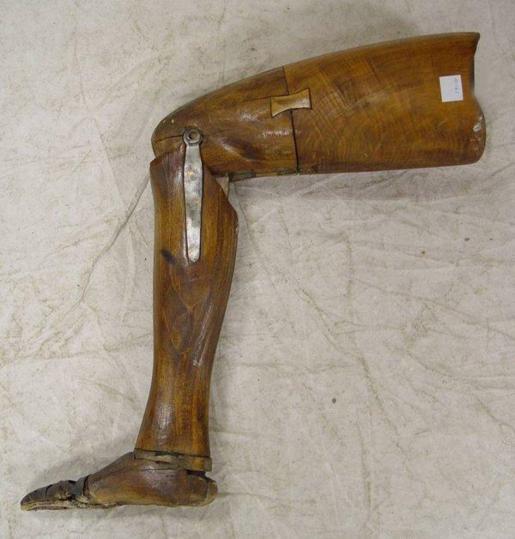 George Eyeser leg