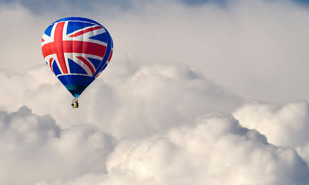 Great Britain balloon