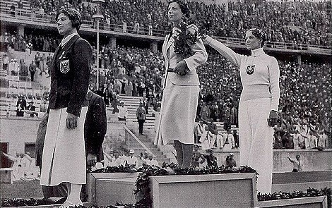 Helene Mayer's Salute at 1936 Berlin Games