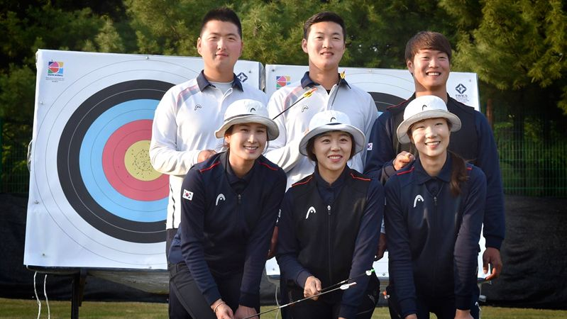 Korean Rio Archery Team