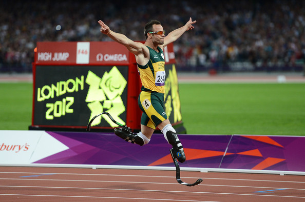 Oscar Pistorius in London