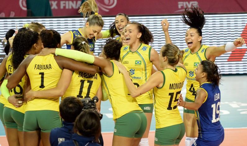 Brazilian Women's Volleyball Team