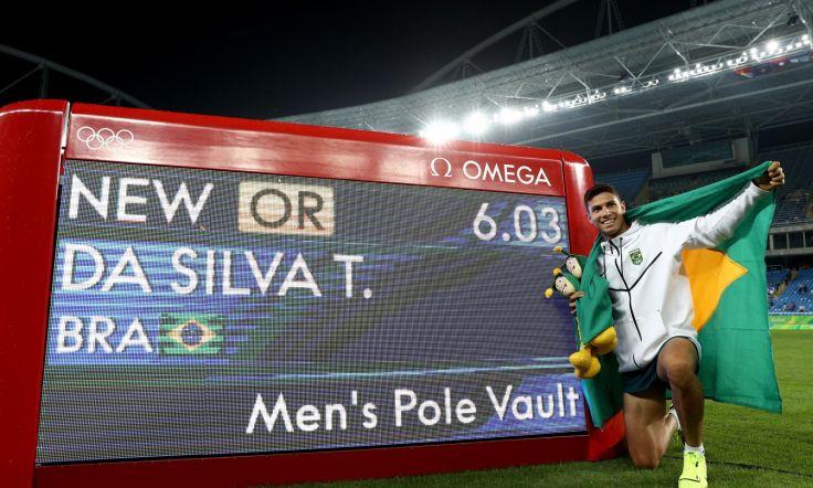 Thiago Braz da Silva new Olympic record