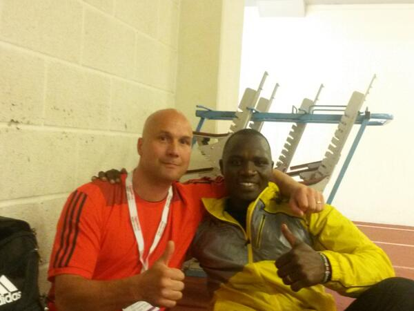 Petteri Piironen and Julius Yego