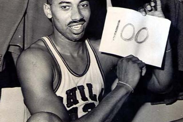 wilt chamberlain 100 - O jogador mais dominante da história da NBA