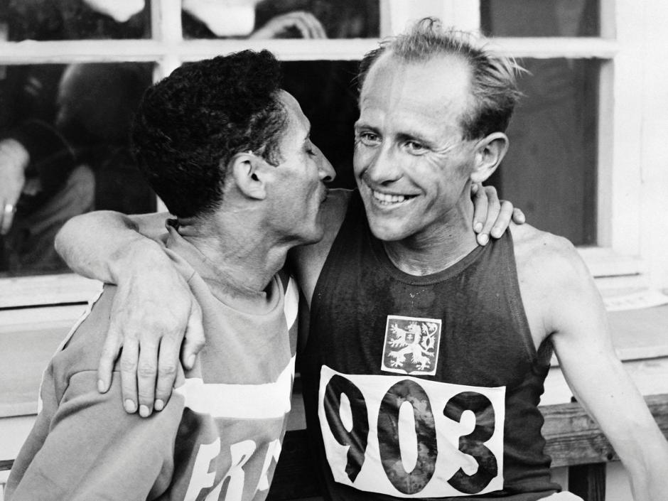 emil-zatopek-and-alain-mimoun