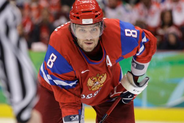 Alex Ovechkin at the Sochi Olympics