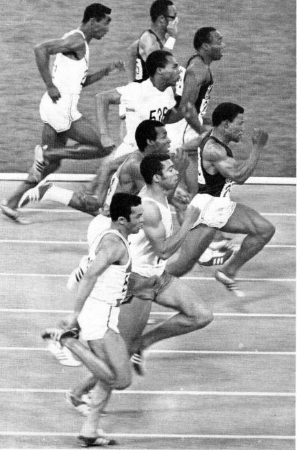 Mel Pender_100 meter_1968