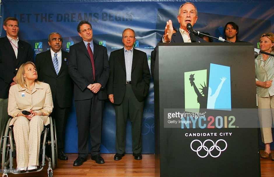 Mayor Mike Bloomberg talking about NYC2012