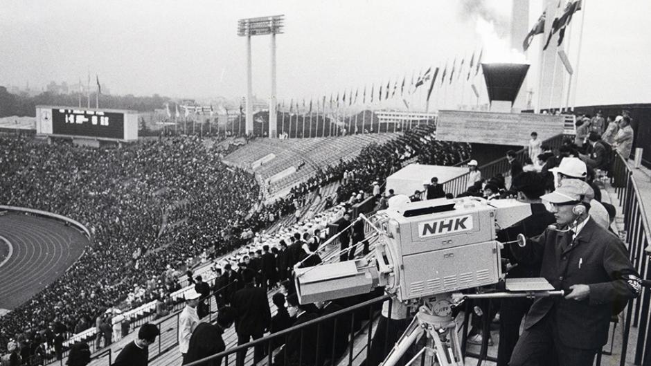 NHK camerman 1964 Tokyo Olympics