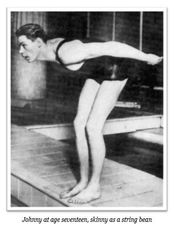 Johnny Weissmuller age 17_Twice the Hero