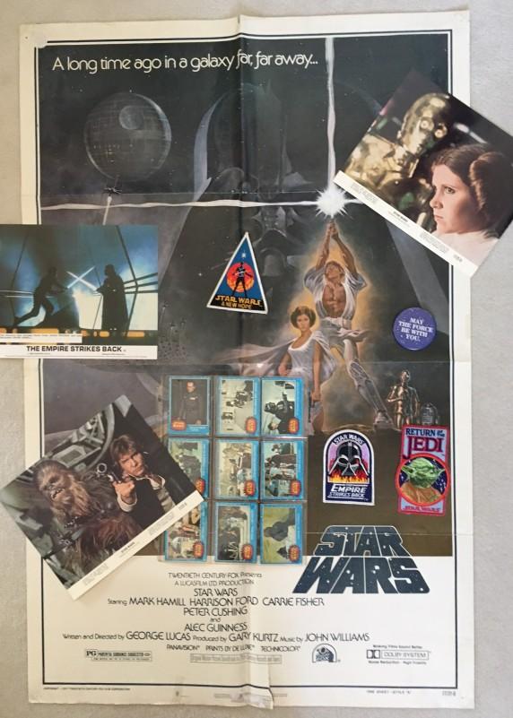 Roys Star Wars memorabilia