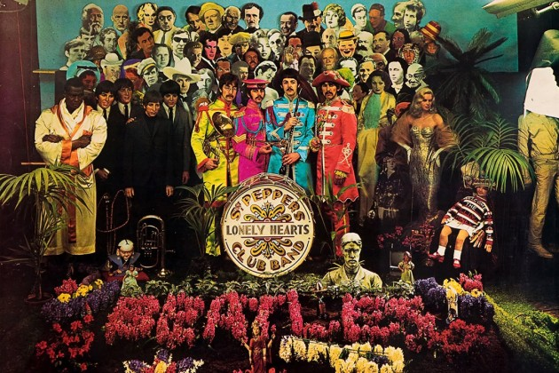 Sgt Pepper cover