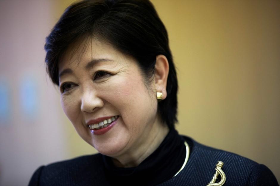 Governor Yuriko Koike