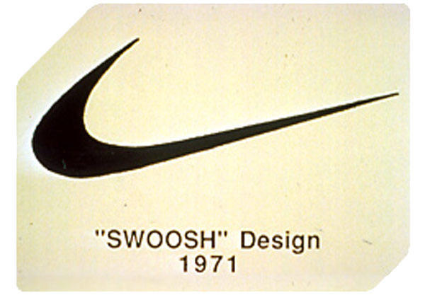 Original 1971 Swoosh Design Nike