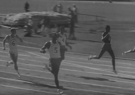 Bob Hayes_number five_Los Angeles Trials_Pathe