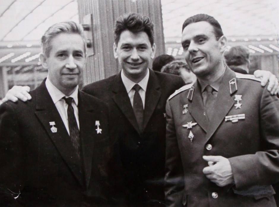 Voskhod Konstantin Feoktistov, Boris Yegorov, Vladimir Komarov