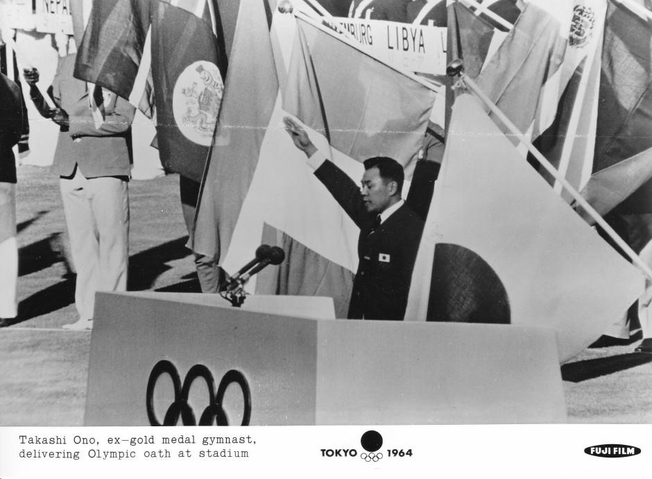 Fuji Film 7_Takashi Ono delivers Olympic oath