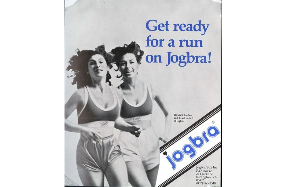 Jog Bra ad from 1970s 2
