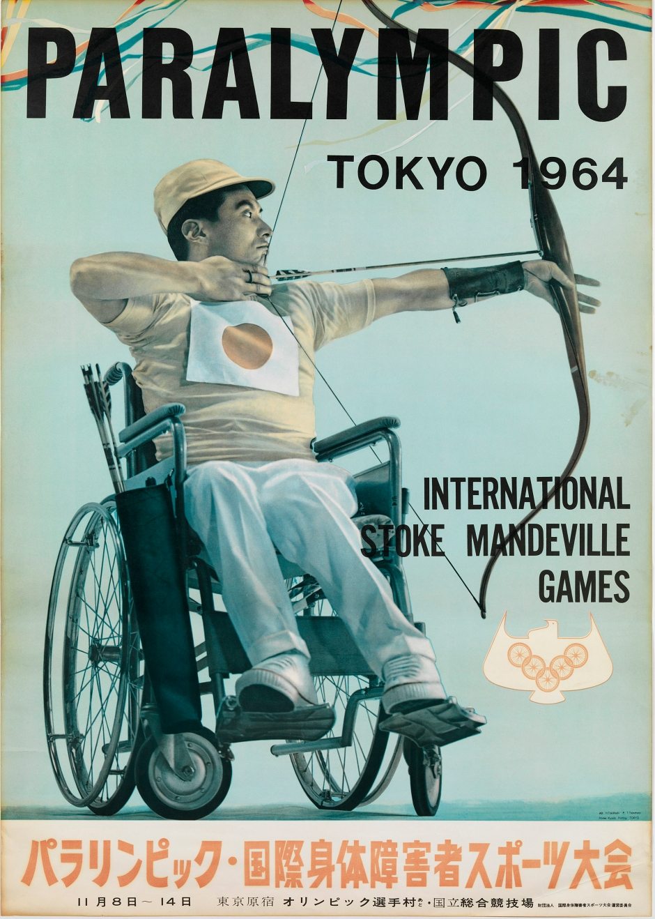 1964 Paralympics_poster