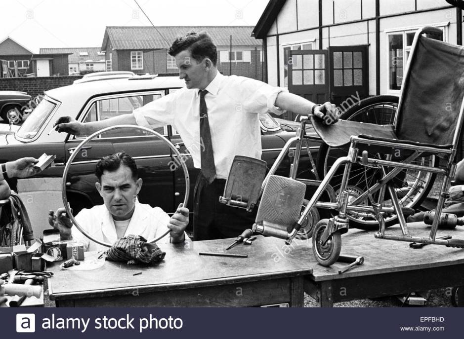 1964 Paralympics_prepping for the Games