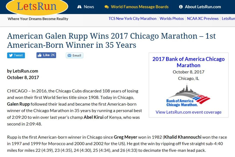 Lets Run Galen Rupp Headline