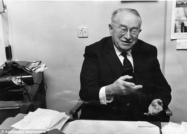 Ludwig Guttmann in office