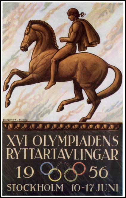 1956 Olympics in Stockholm equestrian events