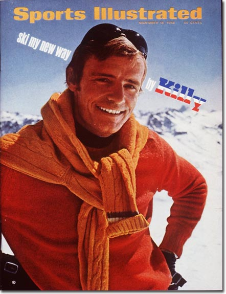 Jean Claude Killy_Sports Illustrated cover