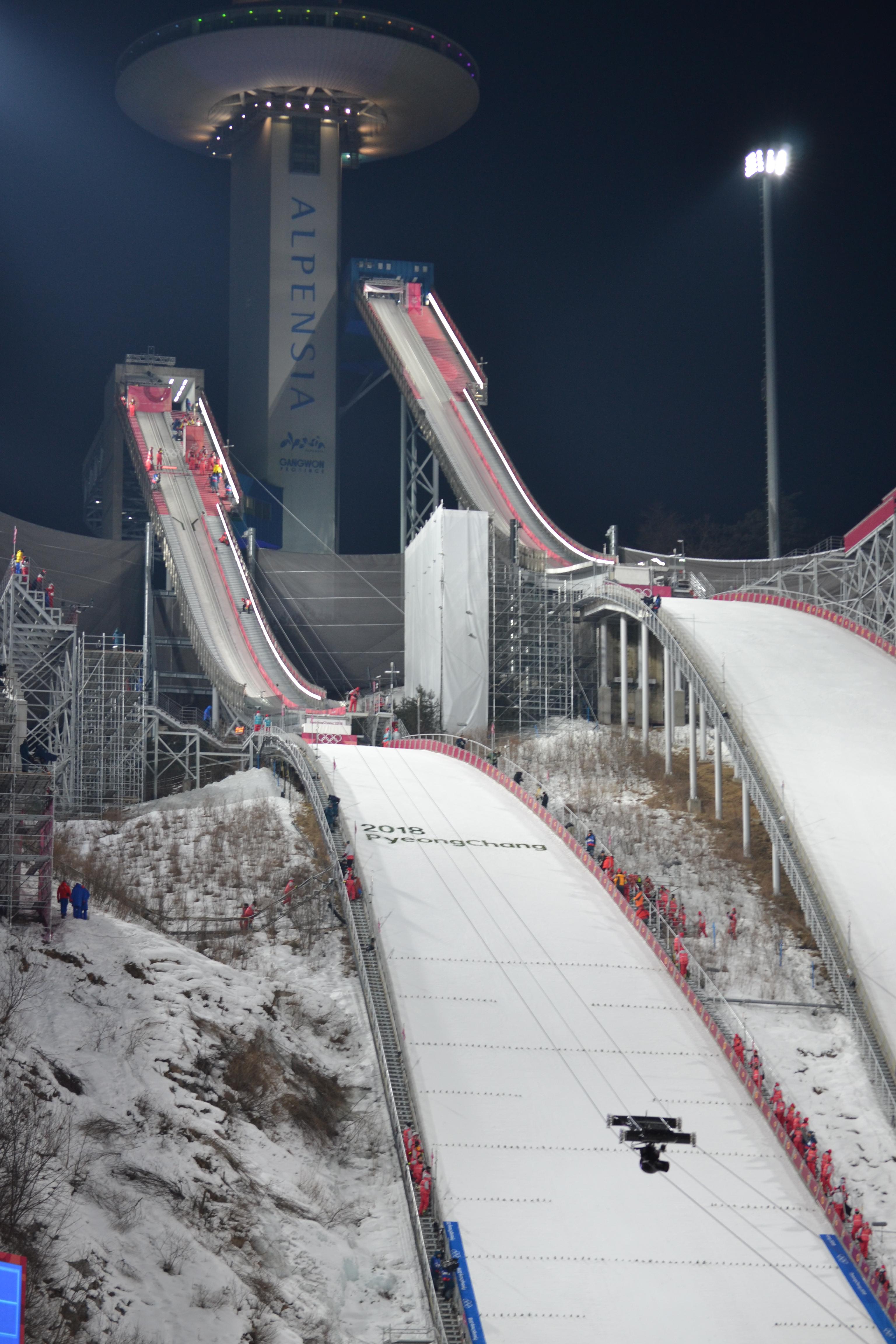 ski jumping live